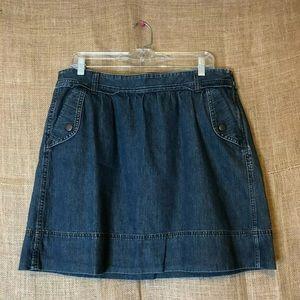 Ann Taylor LOFT Womens Skirt Size 10 Denim Jean